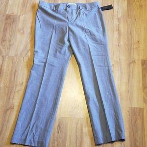 Grey/baby blue pinstripe, Logan Fit BR pants